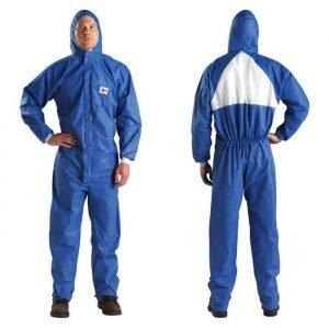 3M Odijelo za lakiranje bijelo-plavo L-XXL