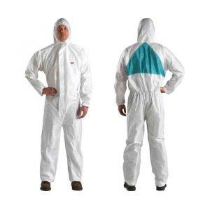 3M Odijelo za lakiranje bijelo-zeleno L-XXL
