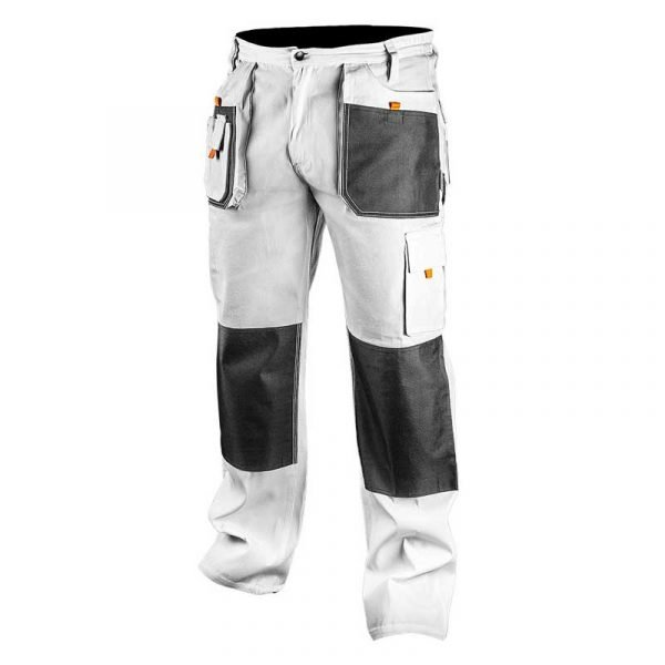 Bijele radne hlače S-XXL NEO 81-120