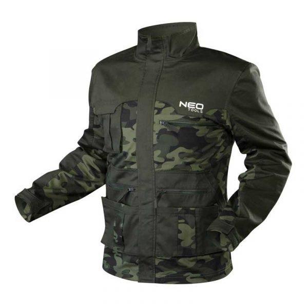 Camo radna jakna S-XXL NEO 81-211