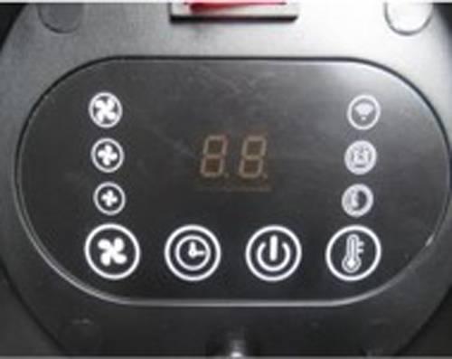 Električna grijalica i ventilator 2400 kW manual NEO 90-071