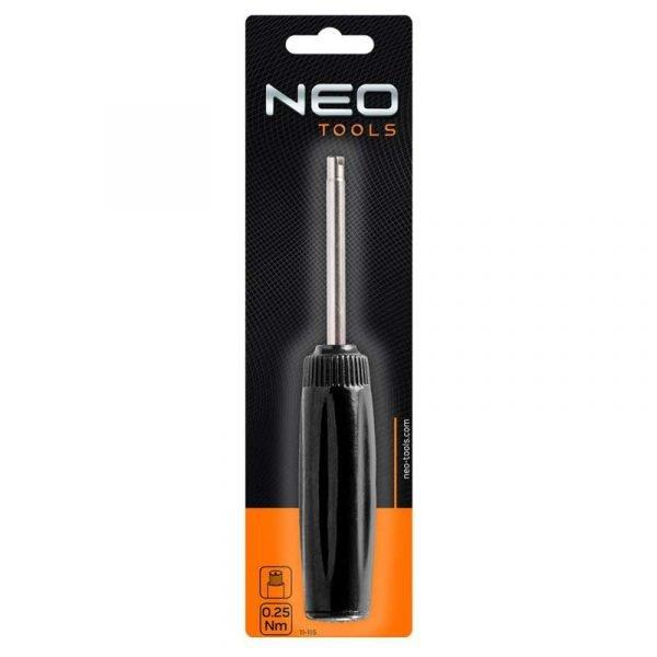 Izvijač ventila za vulkanizere 0.35/0.45 Nm NEO