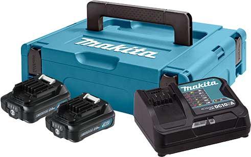 MAKITA Set CXT punjač i 2 x baterija u koferu