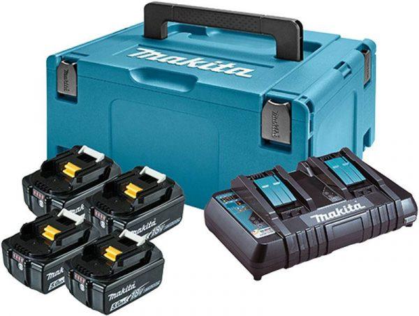 MAKITA Set LXT akumulatora 18 V 5.0 Ah