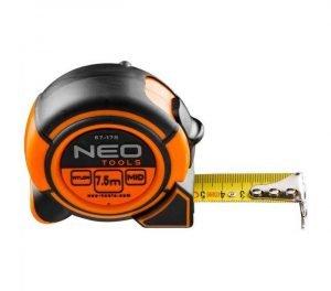 Profi magnetni čelični metar 7.5m NEO 67-178