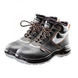 Radne kožne čizme s toplim oblogama NEO 82-140