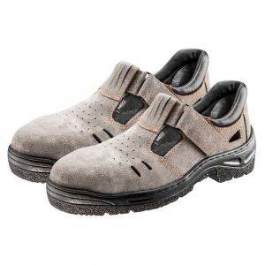 Radne sandale brušena koža NEO 82-580