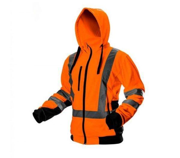 Reflektirajuća jakna s kapuljačom S-XXL NEO 81-745/81-746
