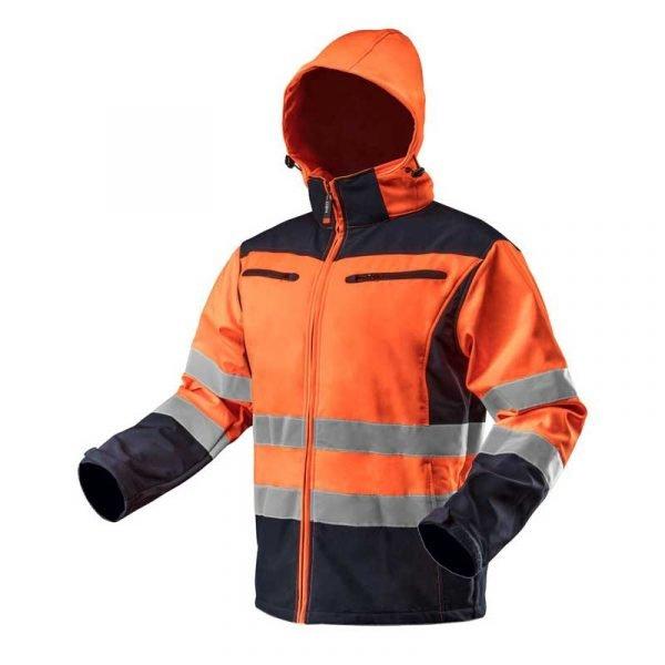Reflektirajuća radna jakna s kapuljačom NEO 81-70081-701.