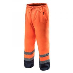 Reflektirajuće vodonepropusne narančaste radne hlače S-XXXL NEO 81-771