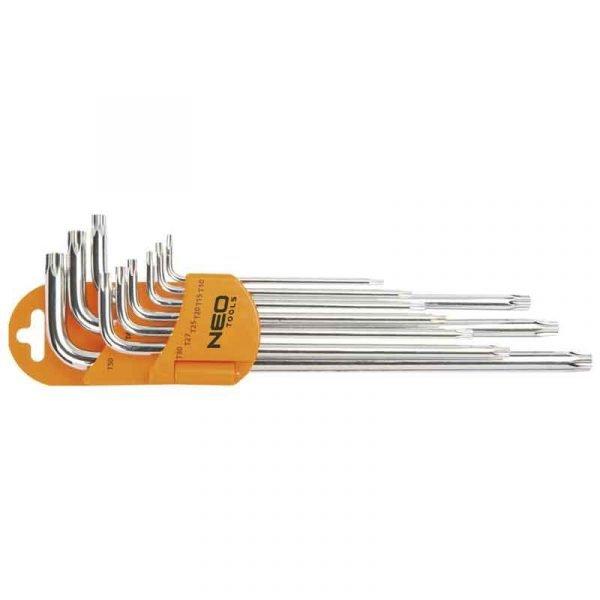 Set Torx magnetskih ključeva NEO 09-516