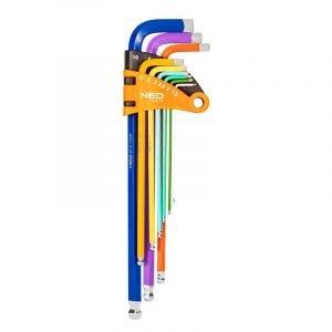 Set imbus ključeva 1.5-10 mm 9 kom NEO 09-512