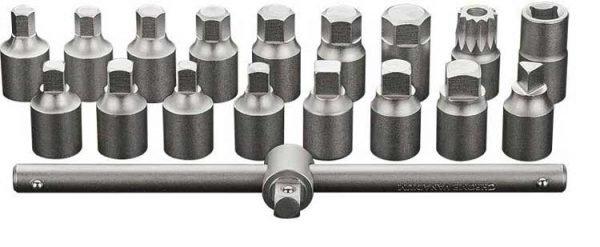 Set ključeva za ispuštanje ulja 18 kom 38 NEO