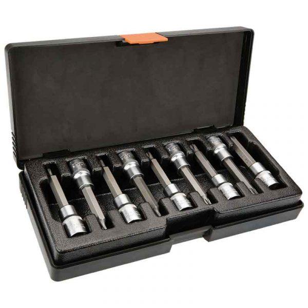 Set nasadnih ključeva Torx 12 100 mm 9 kom NEO 08-708