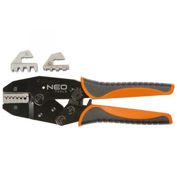 kliješta za kabelske stopice sa izmjenjivim glavama NEO 01-506