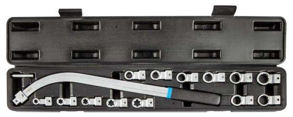 ključ za demontažu zatežača sa promjenjivim nastavcima NEO 11-169