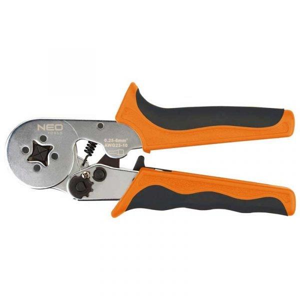 specijalna kliješta za kabelske stopice 0.25 - 6 mm2 NEO 01-507