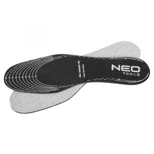 Univerzalni ulošci za obuću s aktivnim ugljenom - 10 pari NEO 82-303
