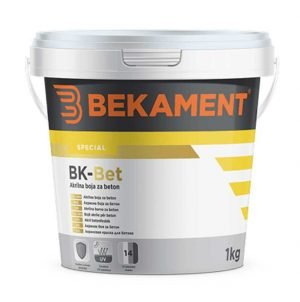BK Bet - akrilna boja za beton 1-5 kg