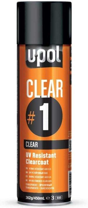 Bezbojni lak u spreju 450 ml CLEAR/AL UPOL