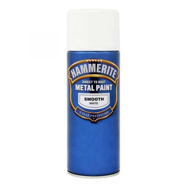 HAMMERITE Sprej sjajni lak 400 ml 3u1 bijeli