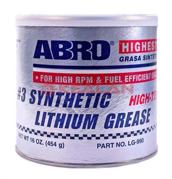 Litijska sintetička mast 454 g ABRO
