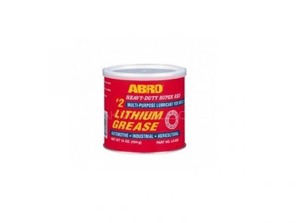 Litijska super crvena mast 454 g ABRO