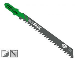 Nož za ubodnu pilu drvo 3.0 x 75 mm HAWERA
