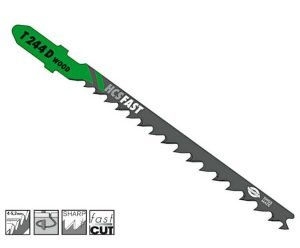 Nož za ubodnu pilu drvo 4.0 x 75 mm HAWERA