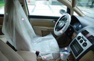 Set za zaštitu unutrašnjosti vozila 5/1 MIPA