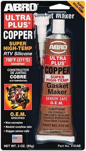 Silikon za zaptivanje visokotemp. bakar 85g ABRO