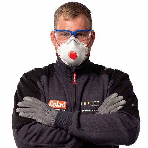 Zaštitna maska P2 s ventilom COLAD (2)