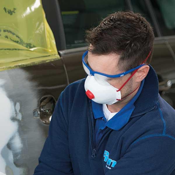 Zaštitna maska P2 s ventilom COLAD (4)