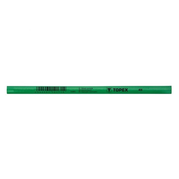 Zidarska olovka 240 mm 4H TOPEX 14A801