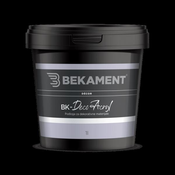 BEKAMENT Podloga za dekoracijske materijale BK-Deco Acryl 1 l