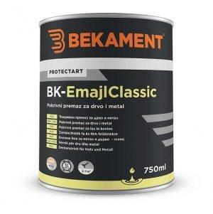 BEKAMENT Boja za drvo i metal 750 ml BK-Emajl Classic