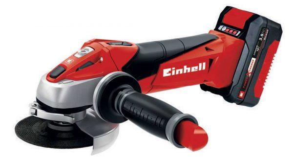 EINHELL aku kutna brusilica Power X-Change TE-AG 18/115 Li Kit