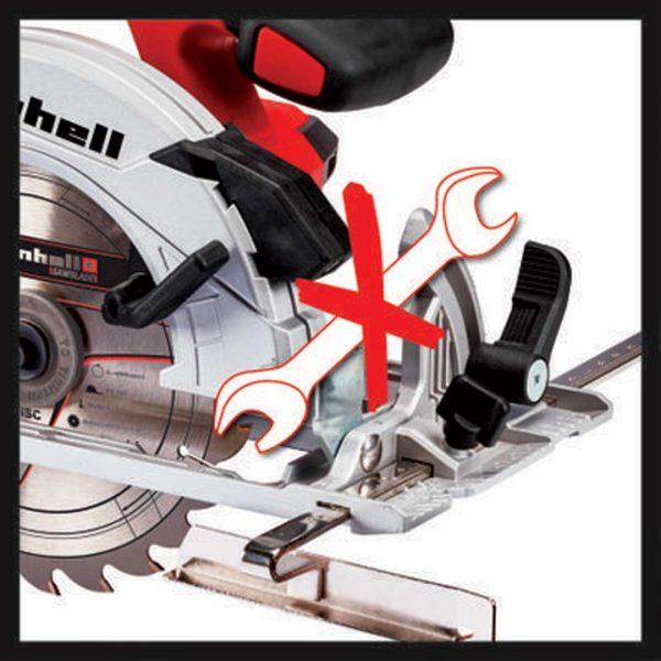 EINHELL aku ručni cirkular Power X-Change TE-CS 18/165 Li – Solo