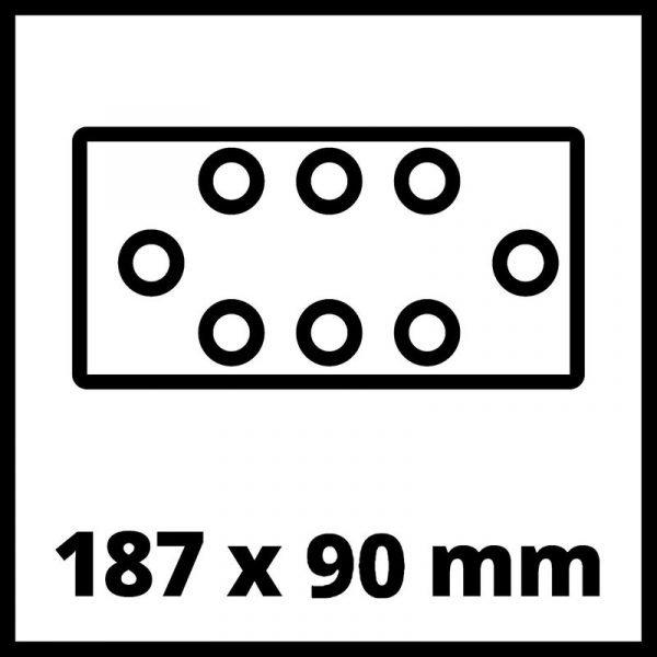 EINHELL aku vibracijska oscilirajuća brusilica Power X-Change TC-OS 18187 Li Solo_6