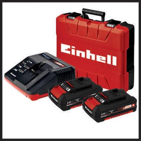 EINHELL aku udarna bušilica Power X-Change BRUSHLESS TE-CD 18 Li- i BL Kit