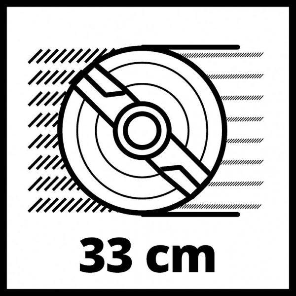 EINHELL Akumulatorska kosilica u setu Power X-Change GE-CM 1833 Li_7