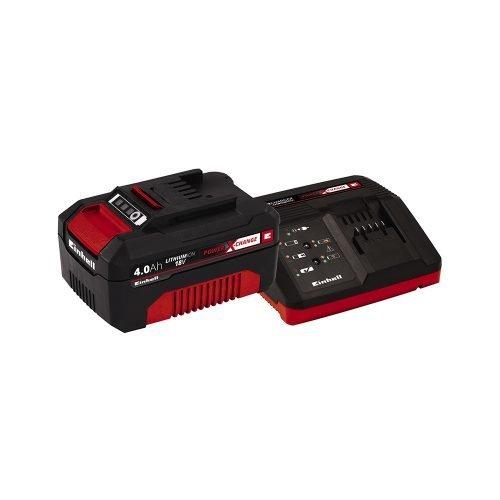 EINHELL set brzi punjač i baterija Power X-Change 18V 4Ah Starter Kit
