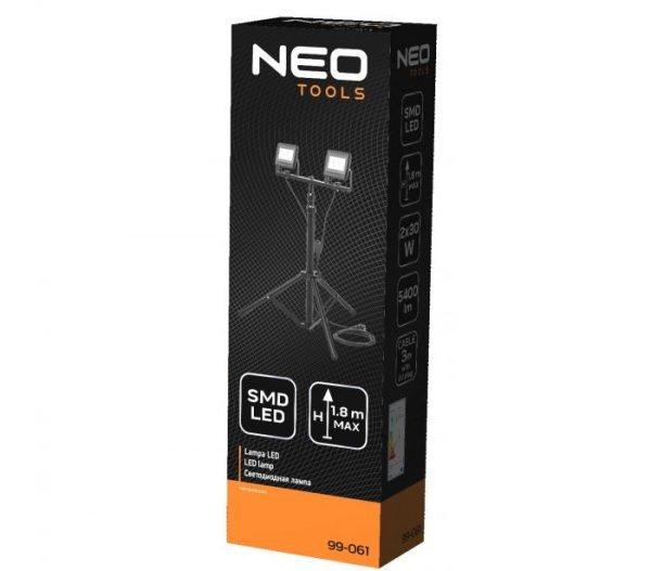 LED Reflektor s tripod stalkom 2 X 30 W 5400 Lm NEO 99-061_1