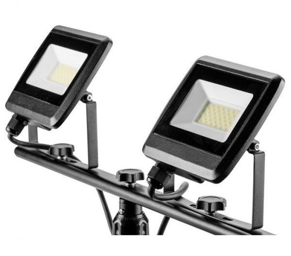 LED Reflektor s tripod stalkom 2 X 30 W 5400 Lm NEO 99-061_3