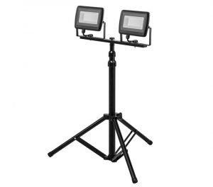 LED Reflektor s tripod stalkom 2 X 50 W 9000 Lm NEO 99-062