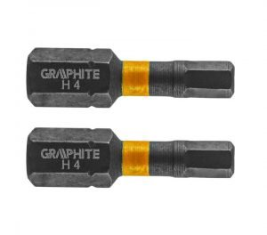 Udarni bit nastavak HEX4 x 25-HEX5 x 25 mm 2-1 GRAPHITE 56H507-56H509
